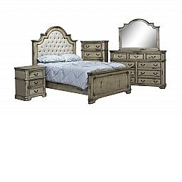 PARK AVENUE 5-PIECE KING BEDROOM SUITE - DIVINITY
