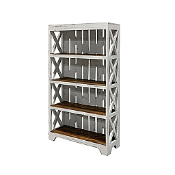 PROMO CRATE BOOKCASE W/ OUT WHEELS NO BOXES - ANTIQUE WHITE