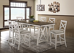SOMERSET COUNTER DINING SET- TABLE & 4 CHAIRS