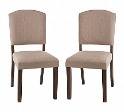 EMERSON PARSON DINING CHAIR- SET OF 2 OYSTER FABRIC