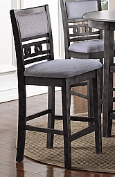 GIA COUNTER CHAIRS (MUST ORDER IN PAIRS)-GRAY