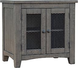 STOCKTON CHAIRSIDE END TABLE- ANTIQUE ASH