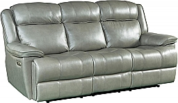 ECLIPSE POWER RECLINING SOFA - FLORENCE HERON LEATHER